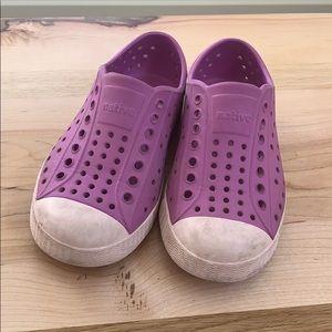 Natives Purple Size 9